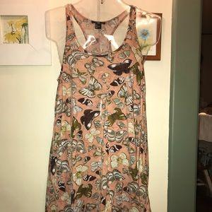 🦋PRETTY H&M BUTTERFLY PRINT DRESS. SZ SMALL 🦋